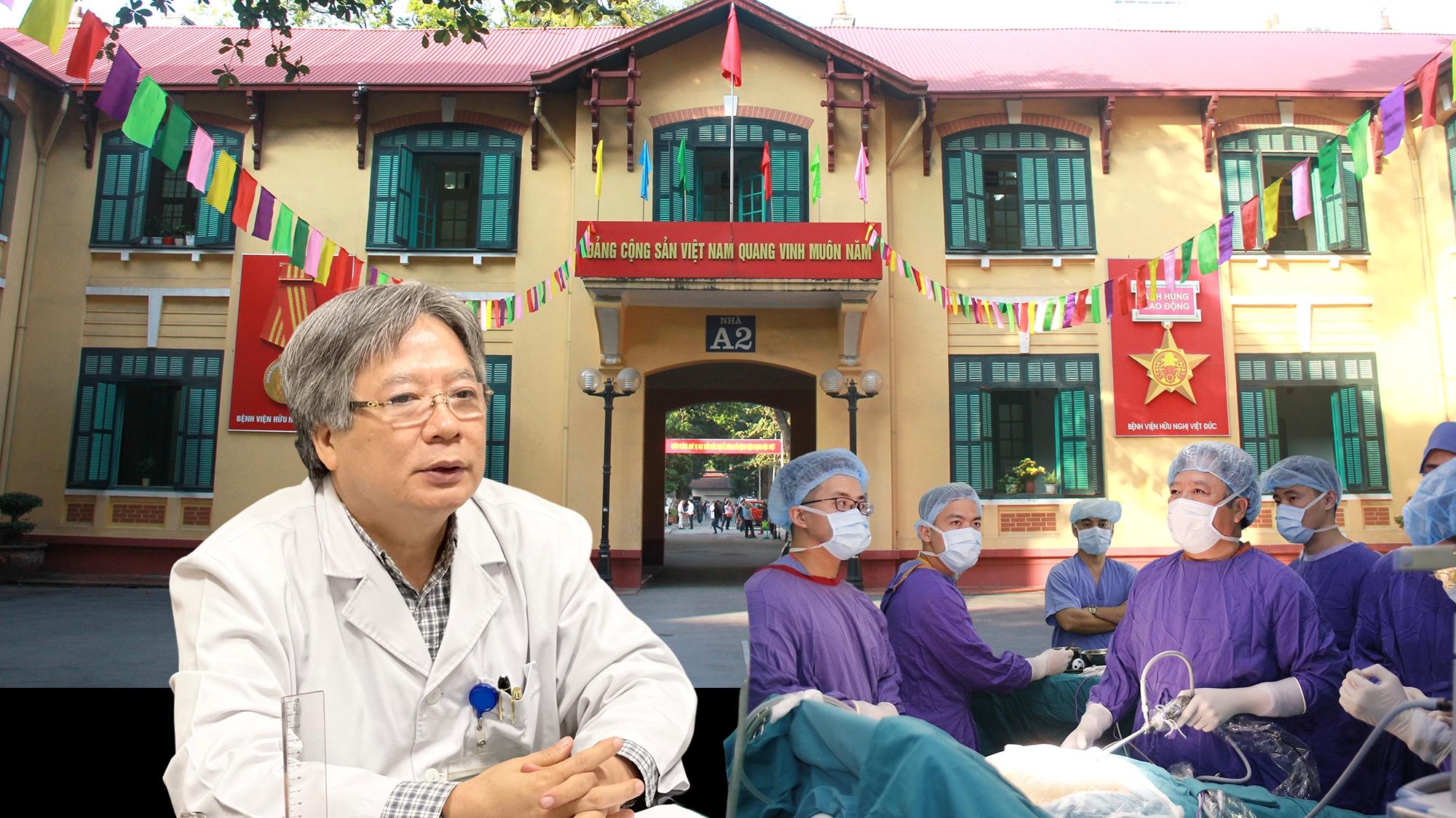 MEGASTORY: GS.Trần Bình Giang và khát vọng đưa Bệnh viện Hữu nghị Việt Đức lên một tầm cao mới