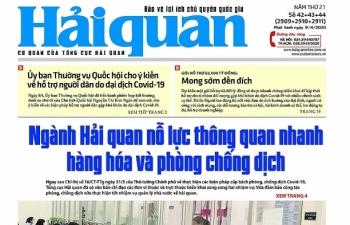 Những tin, bài hấp dẫn trên Báo Hải quan số 42+43+44 phát hành ngày 9/4/2020