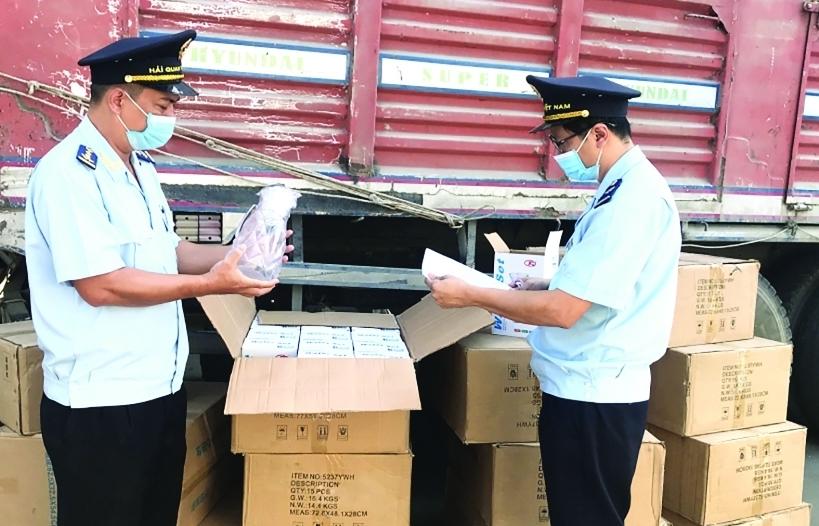 Hải quan An Giang: Đảm bảo thông quan, kiểm soát chặt hàng hóa trong dịch