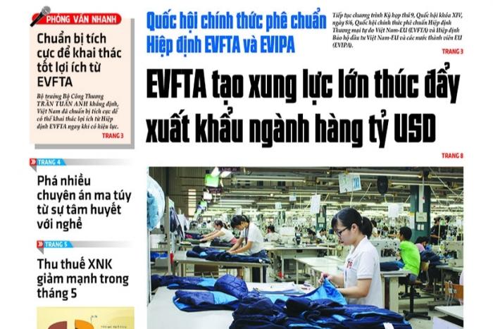 Những tin, bài hấp dẫn trên Báo Hải quan số 69 phát hành ngày 9/6/2020