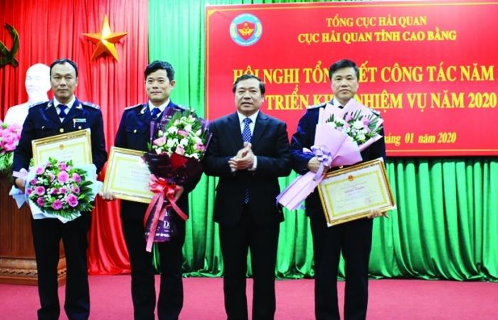 Đảng bộ Cục Hải quan Cao Bằng: Vượt khó để lãnh đạo đơn vị hoàn thành xuất sắc nhiệm vụ