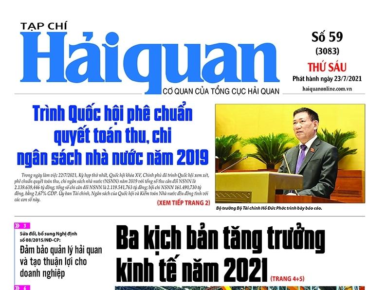 Những tin, bài hấp dẫn trên Tạp chí Hải quan số 59 phát hành ngày 23/7/2021