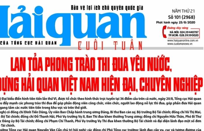 Những tin, bài hấp dẫn trên Báo Hải quan số 101 phát hành ngày 23/8/2020