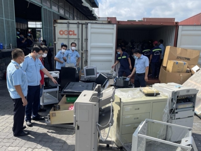 Hiệu quả chống thất thu tại Hải quan cửa khẩu cảng Sài Gòn khu vực 1
