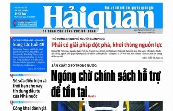 Những tin, bài hấp dẫn trên Báo Hải quan số 145 phát hành ngày 3/12/2019
