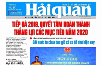 Những tin, bài hấp dẫn trên Báo Hải quan số 157 phát hành ngày 31/12/2019