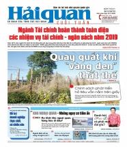 Những tin, bài hấp dẫn trên Báo Hải quan số 5 phát hành ngày 12/1/2020