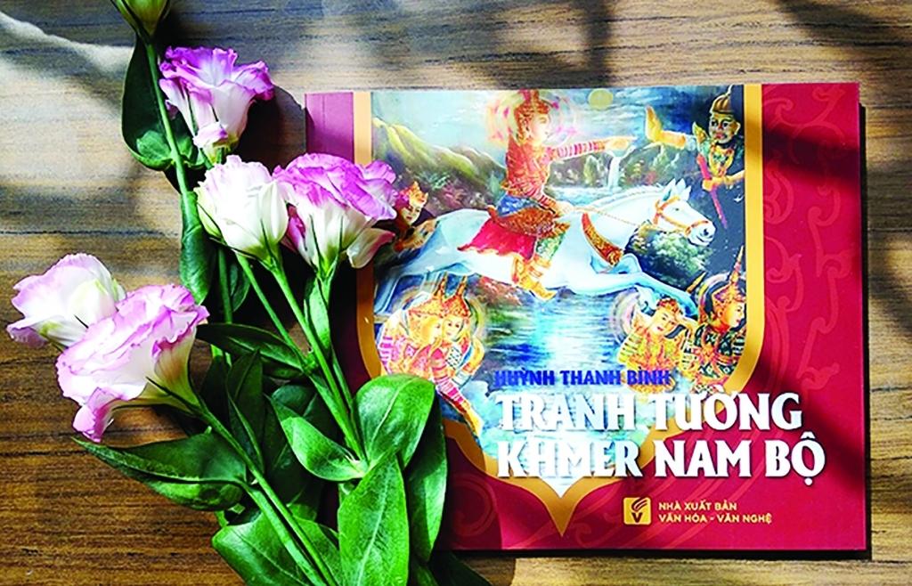 Độc đáo tranh tường Khmer Nam bộ