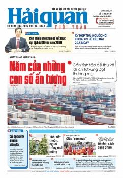 Những tin, bài hấp dẫn trên Báo Hải quan số 153 phát hành ngày 22/12/2019