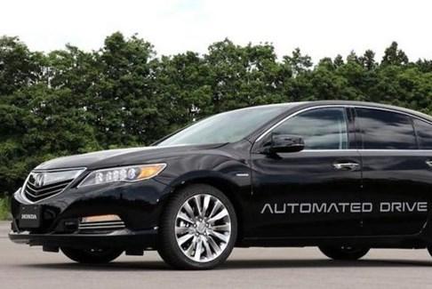 Từ năm 2021, Honda sẽ bán ô tô không người lái cấp độ 3