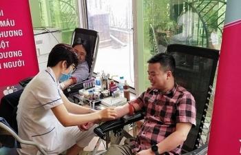 Chương trình 'Bảo Việt - Vì hạnh phúc Việt' đã đóng góp 2.400 đơn vị máu