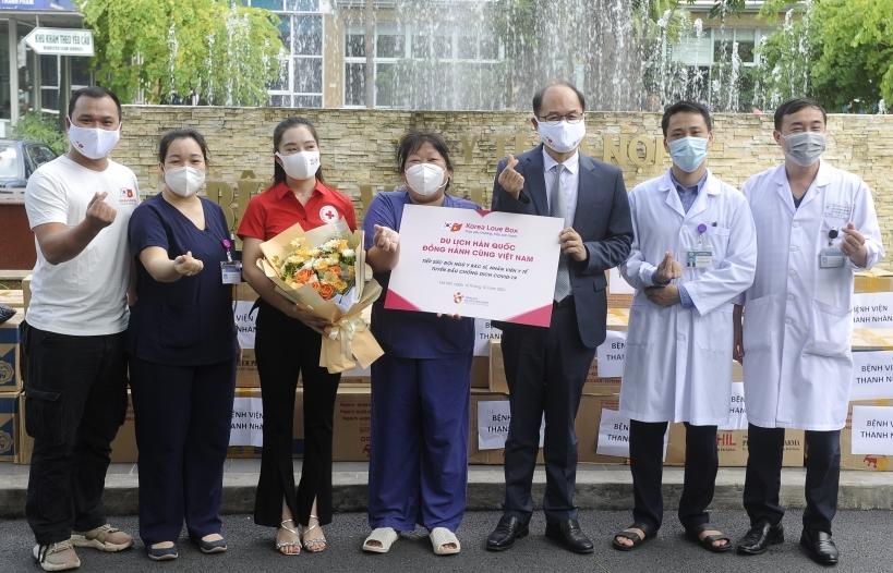 KTO Việt Nam tiếp sức đội ngũ y bác sĩ tuyến đầu chống dịch