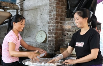 Bánh cuốn Mão Điền nức tiếng vùng Kinh Bắc
