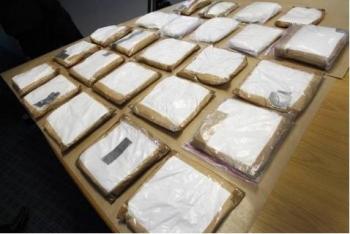 24kg cocaine trên tàu du lịch