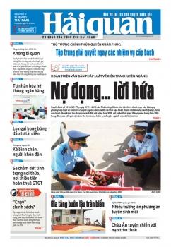 Những tin, bài hấp dẫn trên Báo Hải quan số 45 phát hành ngày 14-4