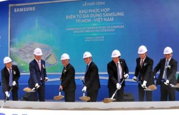 """Nhiều dự án """"khủng"""" của Samsung được công nhận là DN ưu tiên"""