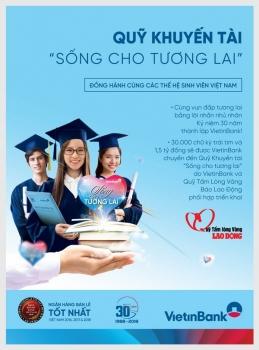 """Cùng VietinBank """"thắp lửa"""" tinh thần học tập cho sinh viên"""