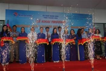 Khai trương đường bay thẳng Thanh Hóa- Bangkok