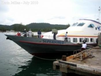 Đã có tàu cao tốc tuyến Hà Tiên - Phú Quốc