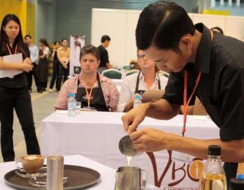 Cuộc thi pha chế cà phê Việt Nam lần 2