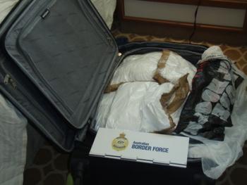 95 kg cocaine trên tàu du lịch