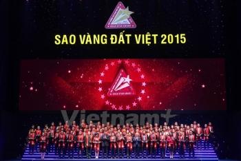 Trao Giải thưởng Sao Vàng đất Việt 2015 tôn vinh 200 thương hiệu Việt