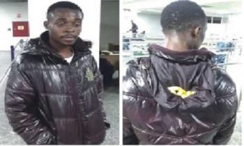 Cocaine trong cổ áo khoác