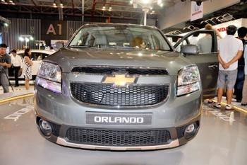 Ra mắt Chevrolet Orlando