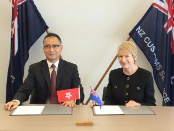 Hải quan New Zealand và Hải quan Hồng Kông tăng cường quan hệ hợp tác