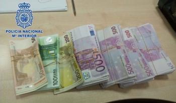 150 ngàn Euro nhét trong đế giày