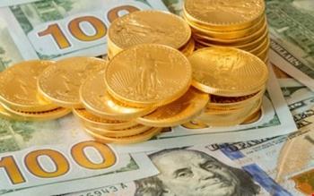 Giá vàng tăng trở lại, USD giảm nhẹ
