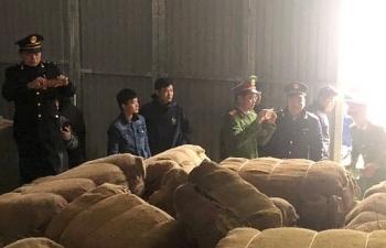 Hải quan Cao Bằng phối hợp bắt giữ gần 42 tấn thuốc lá nguyên liệu