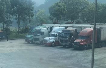 Có hiện tượng tiêu cực về điều tiết xe vào cửa khẩu, Lào Cai áp dụng phương án mới