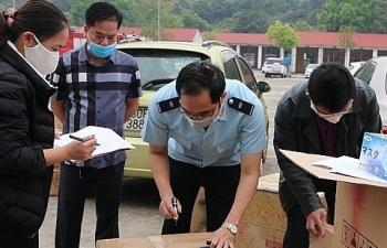 Tịch thu hơn 1 triệu khẩu trang không rõ nguồn gốc ở Lào Cai