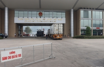 Đã xuất khẩu hơn 7.000 tấn vải thiều qua cửa khẩu quốc tế Lào Cai