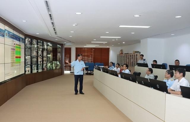 Văn phòng Chính phủ khảo sát việc ứng dụng CNTT tại Tổng cục Hải quan