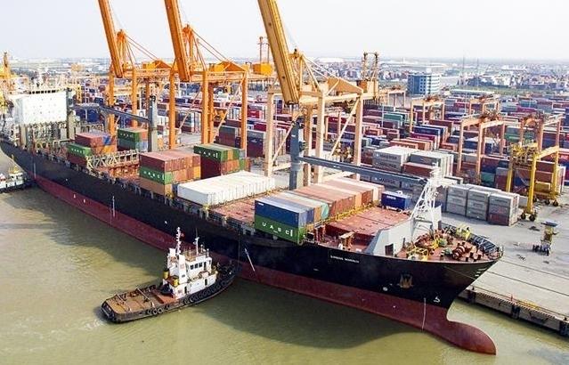 Cảng Hải Phòng đạt sản lượng gần 15 triệu tấn hàng