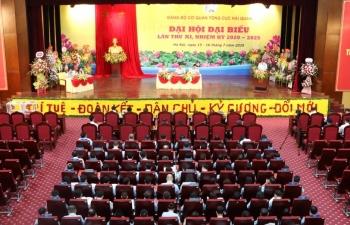 Khai mạc trọng thể Đại hội Đảng bộ cơ quan Tổng cục Hải quan nhiệm kỳ 2020-2025