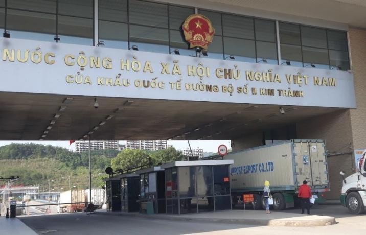 Lào Cai giảm mức thu phí hạ tầng đối với hàng tạm nhập tái xuất