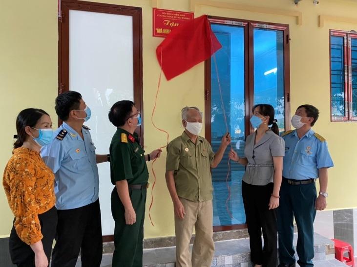 Cựu chiến binh Hải quan Hải Phòng ủng hộ xây nhà nghĩa tình đồng đội
