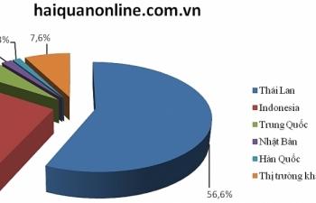 Ô tô chủ yếu nhập khẩu qua cảng Hải Phòng và TPHCM