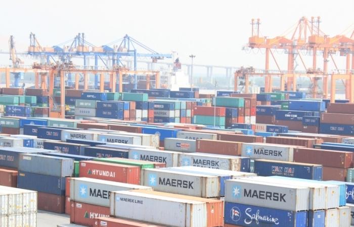 Kim ngạch xuất khẩu tại Hải quan Hải Phòng tăng khá trong tháng 8