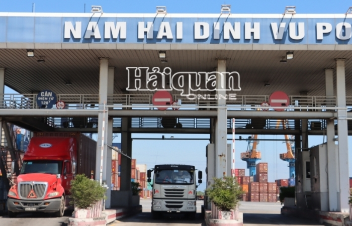 Hải quan Hải Phòng quản lý 117 cảng, kho, địa điểm kiểm tra tập trung