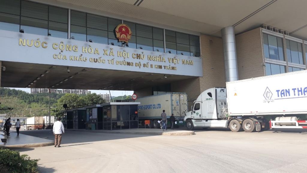576 doanh nghiệp tham gia hoạt động xuất nhập khẩu tại Hải quan Lào Cai
