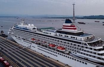 Hải quan Đình Vũ làm thủ tục nhanh cho tàu du lịch hạng sang Asuka II
