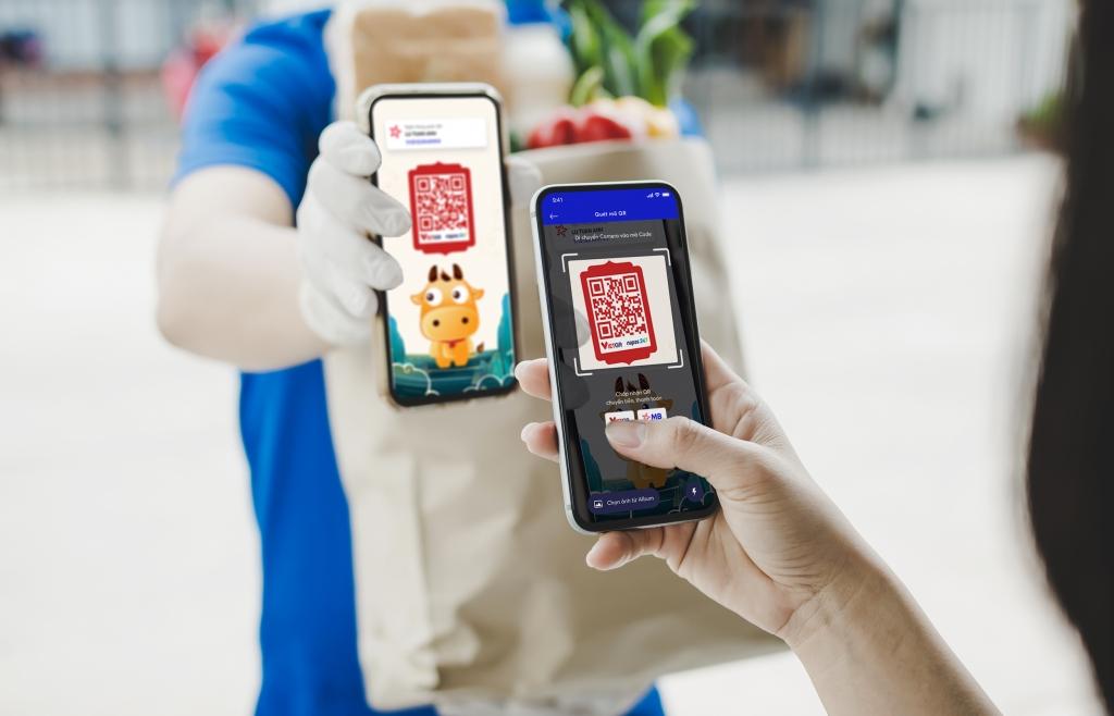 Ra mắt thương hiệu VietQR và dịch vụ chuyển tiền nhanh bằng mã QR
