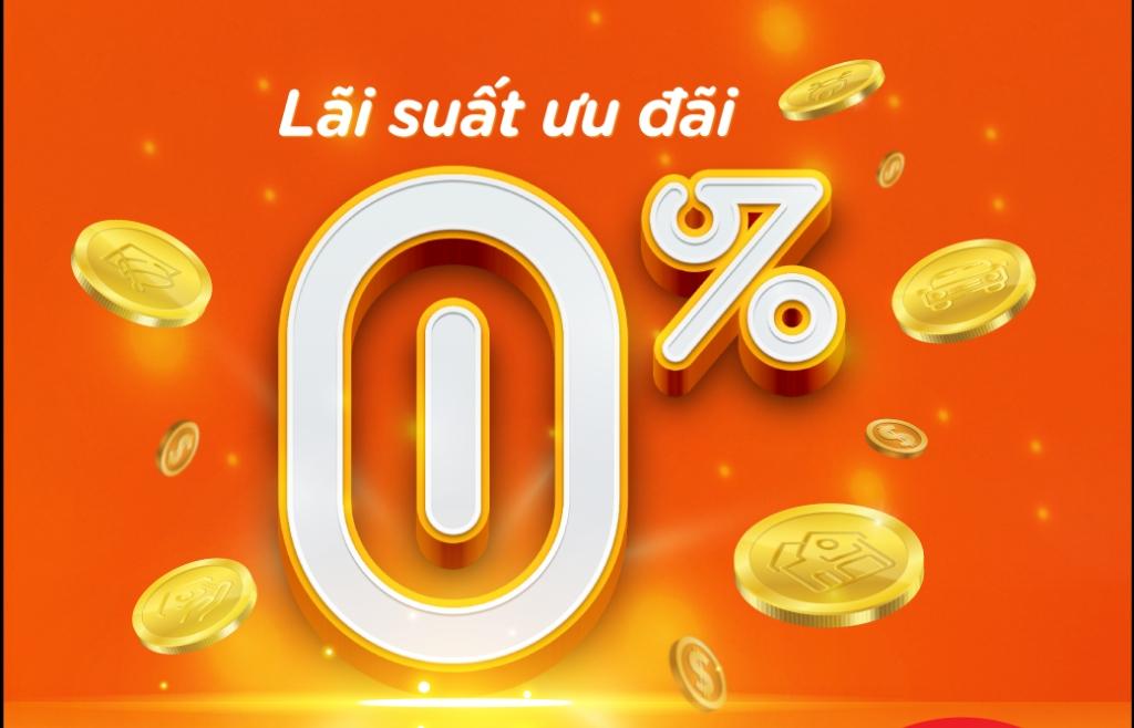 Vay tiêu dùng lãi suất chỉ từ 0%/năm tại MSB
