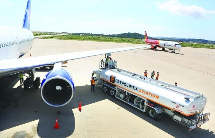 Tiếp tục gia hạn thời hạn lưu giữ nhiên liệu hàng không tạm nhập tái xuất