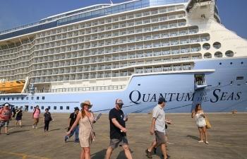 Du thuyền 5 sao chở 6.750 du khách quốc tế cập cảng Phú Mỹ