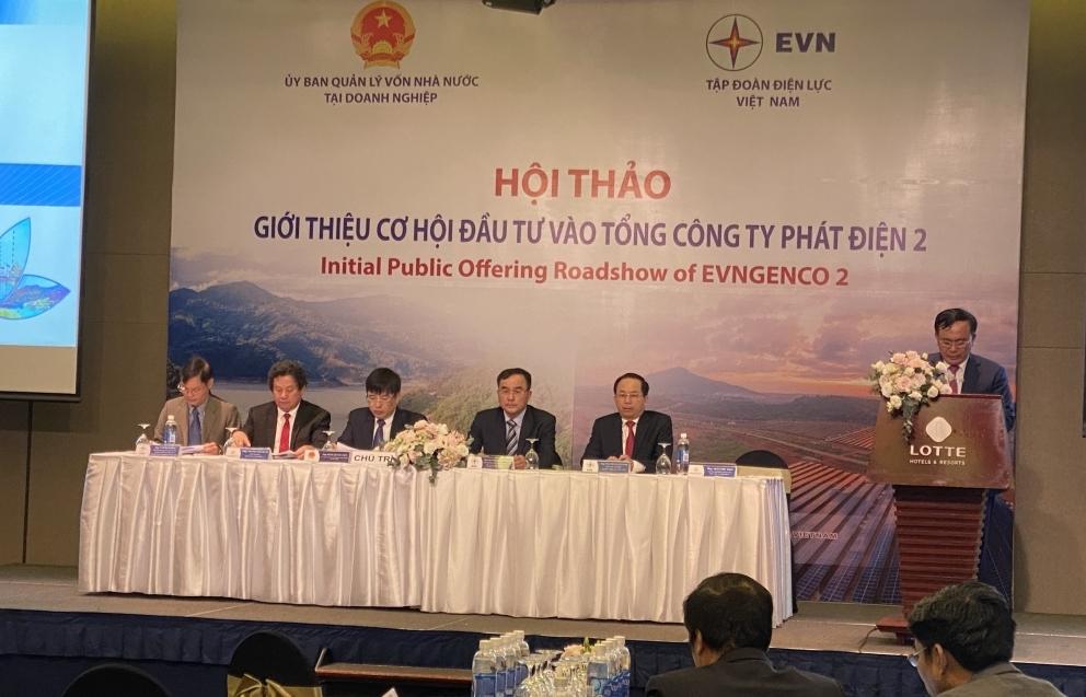Tổng Công ty Phát điện 2 sẽ bán đấu giá công khai trên 580 triệu cổ phần